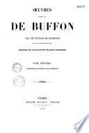 Oeuvres compl  tes de Buffon avec des Extraits de Daubenton et la classification de Cuvier
