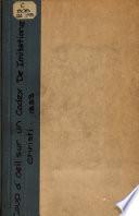 Coup d oeil sur l   dition d un codex De Imitatione Christi