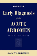 Cope s Early Diagnosis of the Acute Abdomen