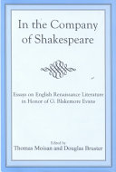 download ebook in the company of shakespeare pdf epub
