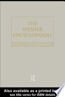 The Spenser Encyclopedia