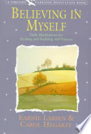 Believing In Myself : larsen and carol hegarty tackles the fundamental issue...