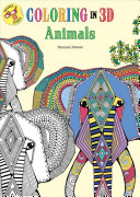 Coloring In 3D Animals : coloring books with coloring in 3d animals....