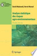 illustration Analyse statistique des risques agro-environnementaux
