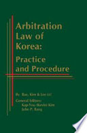 Arbitration Law of Korea