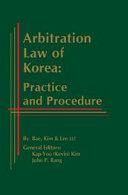 Arbitration Law of Korea