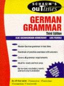 Schaum's Outline of German Grammar