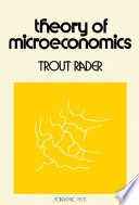 Theory Of Microeconomics