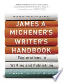 James A  Michener s Writer s Handbook