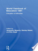 World Yearbook of Education 1981