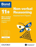 Bond 11   Non Verbal Reasoniing  Assessment Papers