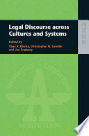 Legal Discourse across Cultures and Systems