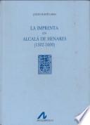 La imprenta en Alcalá de Henares