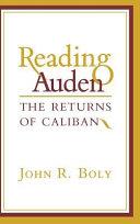 Reading Auden