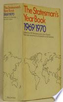 The Statesman S Year Book 1969 70