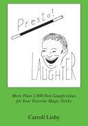 Book Presto! Laughter