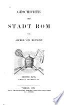 Geschichte Stadt Rom: Bd. Von der Rückveriegung des H. Stuhls bis zur Gegenwart
