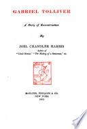 Gabriel Tolliver Book PDF