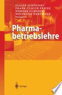 Pharmabetriebslehre