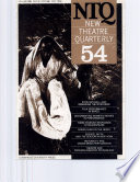 New Theatre Quarterly 54  Volume 14