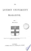 The London University Magazine Book PDF