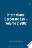 International Corporate Law
