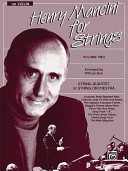 Henry Mancini For Strings Vol 2 1st Violin