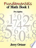 Fundamentals Of Math Book 1