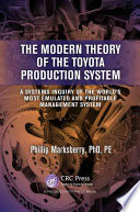 The Modern Theory Of The Toyota Production System book