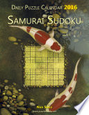 Daily Samurai Sudoku Puzzle Calendar 2016