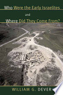 Who Were The Early Israelites And Where Did They Come From