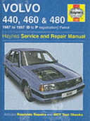 Volvo 400 Series Service And Repair Manual