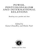 Power, Postcolonialism and International Relations