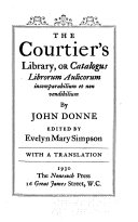The Courtier s Library