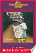 Kristy and the Cat Burglar  The Baby Sitters Club Mysteries  36