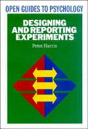 Designing And Reporting Experiments