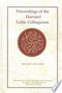 Proceedings of the Harvard Celtic Colloquium  29  2009