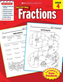 Scholastic Success With Fractions  Grade 4