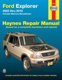 Ford Explorer 2002 Thru 2010