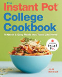 The Instant Pot College Cookbook