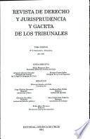 Revista de Derecho y jurisprudencia y Gaceta de los Tribunales