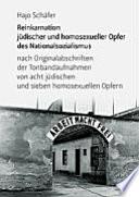 Reinkarnation j  discher und homosexueller Opfer des Nationalsozialismus