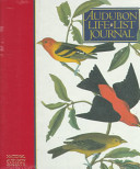 Audubon Life List Journal