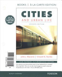 Cities and Urban Life  Books a la Carte Edition