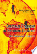 Corporate Citizenship in Developing Countries
