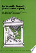 La Nouvelle romane (Italia, France, España)