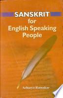 Sanskrit for English Speaking People