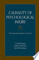 download ebook causality of psychological injury pdf epub