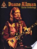 Duane Allman Guitar Anthology  Songbook