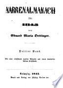 Narrenalmanach, für 1845